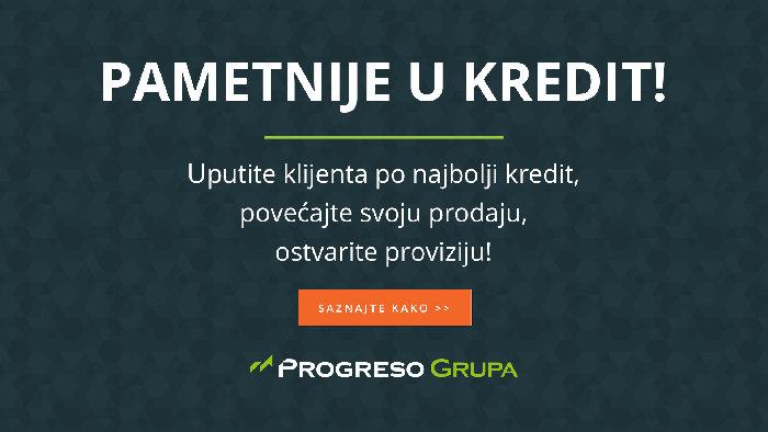 Progresso Grupa - Kreditiranje građana